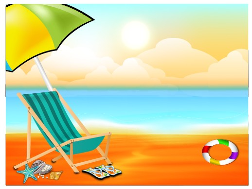 Beautiful Summer Beach Background 05 Vector For Free Download Free Vector