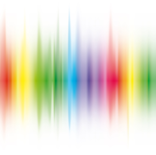 vector shiny rainbow background 02