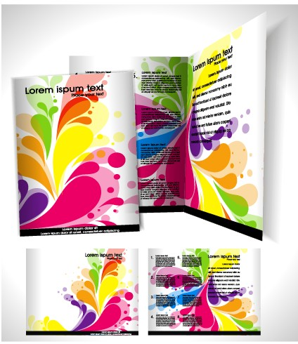 Business Templates With Cover Brochure Design Vector 05 Free Download