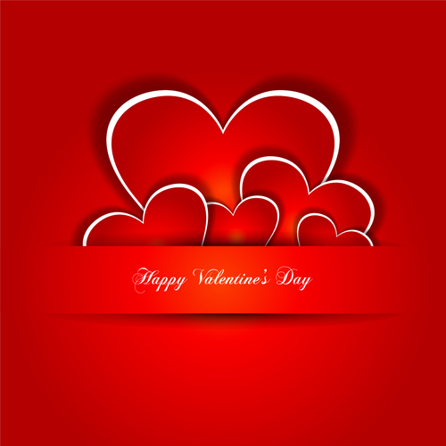 Love Wallpapers Vector : Valentine Day love backgrounds vector 05 Free download