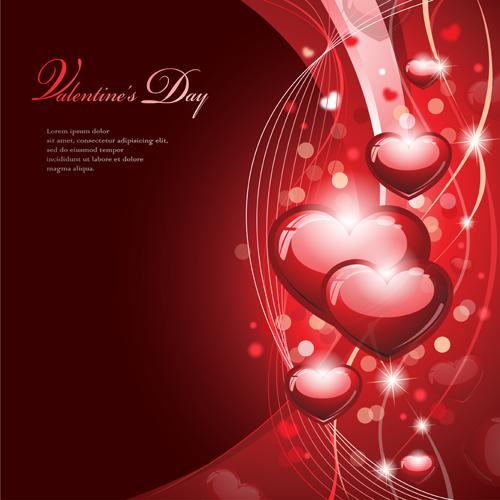 valentine background eps