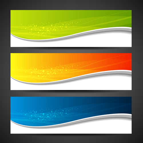 Brilliant Abstract backgrounds vector 01
