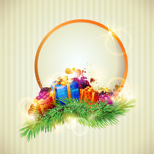 holiday Christmas colorful backgrounds vector 02