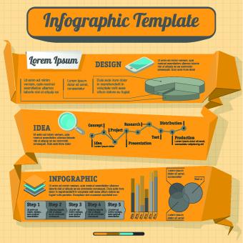 Business Infographic creative design 84 vector