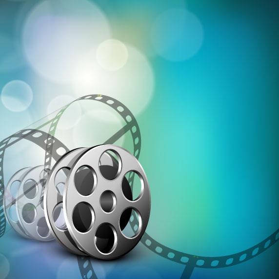 Dream Film backgrounds vector set 04