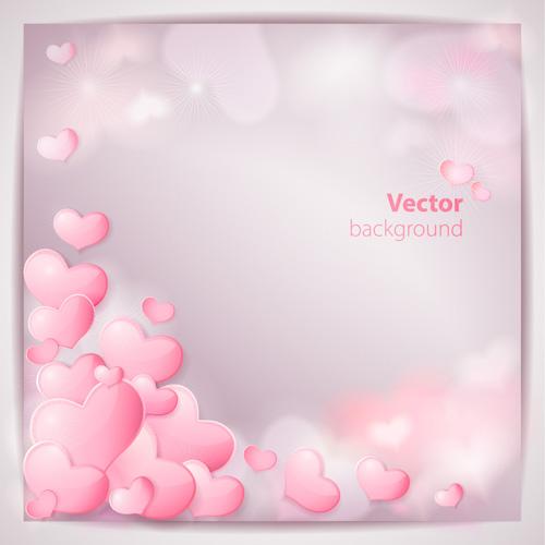 Romantic Wedding Backgrounds vector  03