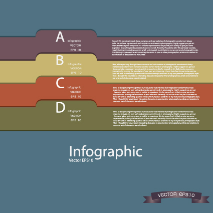 Vector Business Infographic design elements 02
