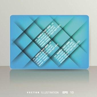 Shiny colored card design vector 03