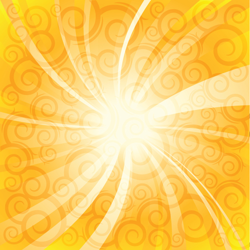 Sparkling Orange Backgrounds Vector Graphics 04 Free