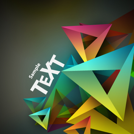 colored geometric shapes vector backgrounds 02 free download