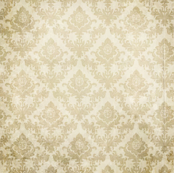 vintage floral pattern background vector 03