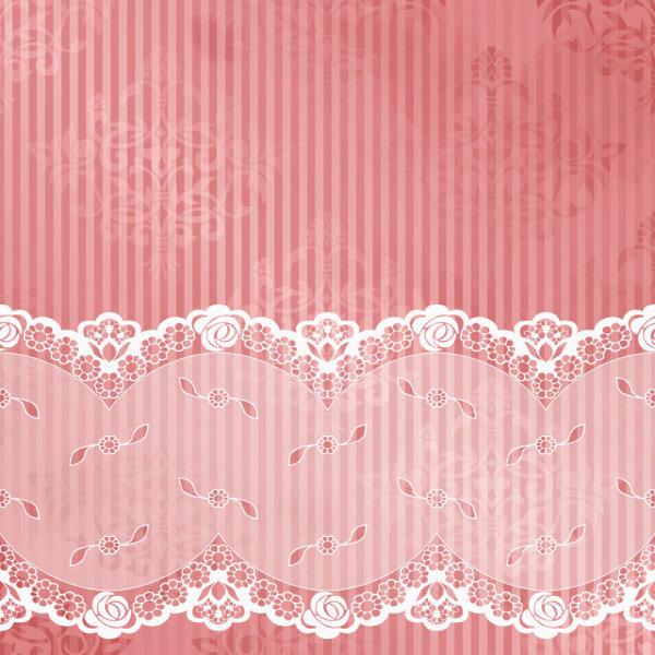 vintage lace frames backgrounds art vector 04