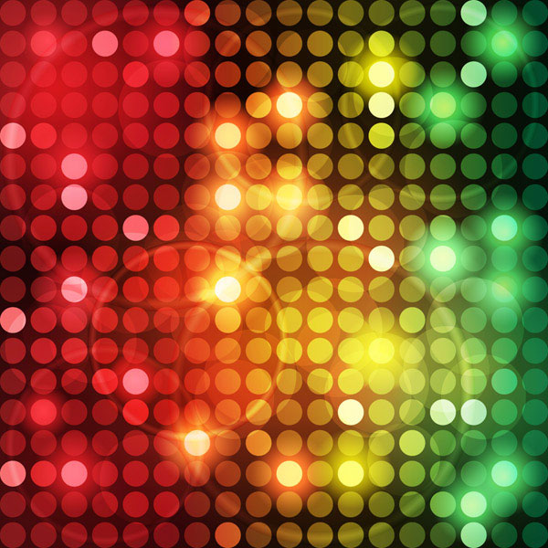abstract colored dot background 1 vector art