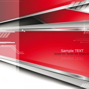 Sense of dynamic technology background Vector graphic