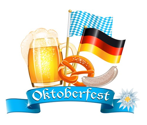 Oktoberfest design elements vector set 15