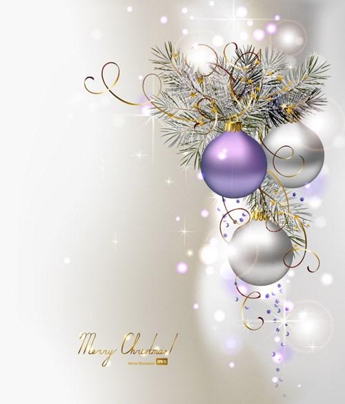 ornate Xmas balls Ornaments elements vector  15