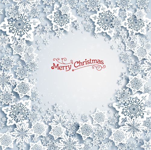 The christmas snowflakes backgrounds vector 03 is a vector