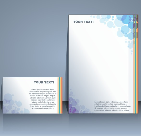 business templates with cover brochure design vector 01 free download